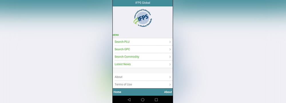 Screenshot of the Fresh PLU app