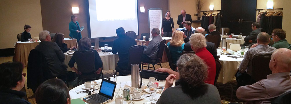Strategic planning session in Ottawa. Photo: D. Folkerson