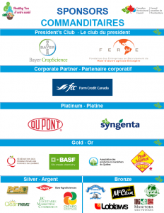 2015 Quebec City AGM Sponsors