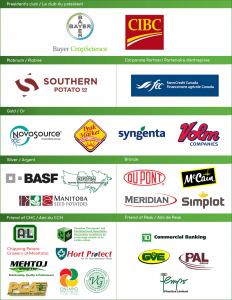 logos des commanditaires de l'AGA de 2017