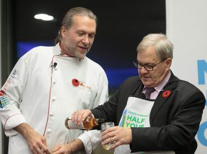 Minister MacAulay and Chef Michael