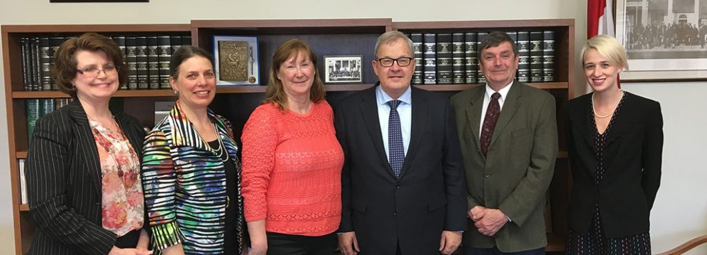 meeting with Minister MacAulay