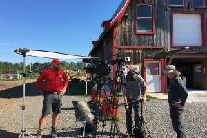 Phil Quinn gets interviewed