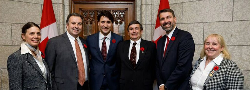 with prime minister trudeau